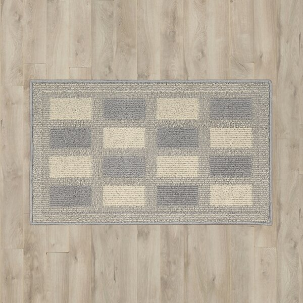 Seema Gray/Cream Area Rug by Winston Porter