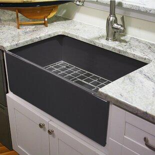cape 30 25   x 18   farmhouse kitchen sink 30 inch farmhouse sink   wayfair  rh   wayfair com