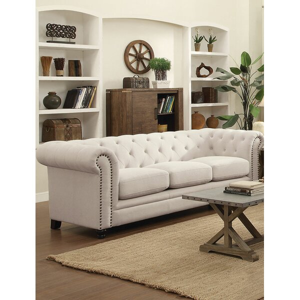 Luxury Brands Lundberg Sofa by Rosdorf Park by Rosdorf Park