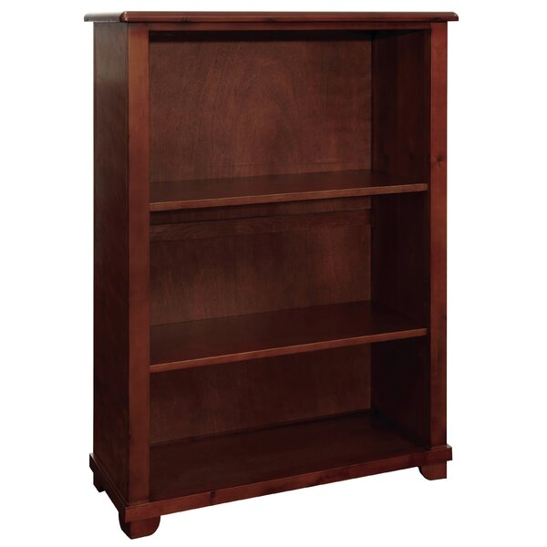 Bonneau 60H Wood Bookcase with Two Adjustable Shelves by Harriet Bee