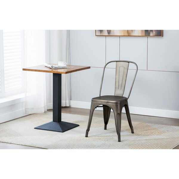 Wynn Stacking Patio Dining Chair by Williston Forge