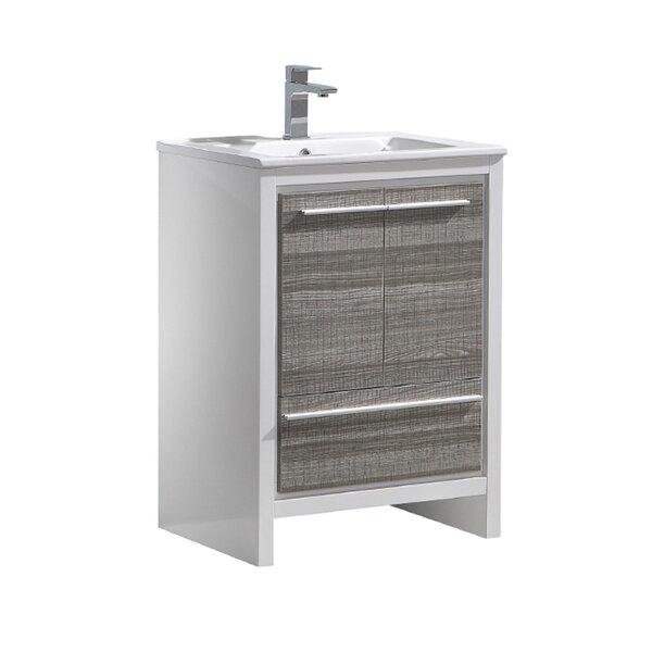Trieste Allier Rio 24 Single Bathroom Vanity Set by Fresca