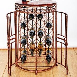 Russian River Jail 24 Bottle Floor Wine Bottle Rack by Old Dutch International