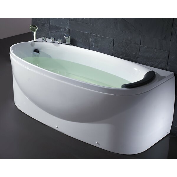 Acrylic 72 x 31.5 Freestanding Soaking Bathtub by EAGO