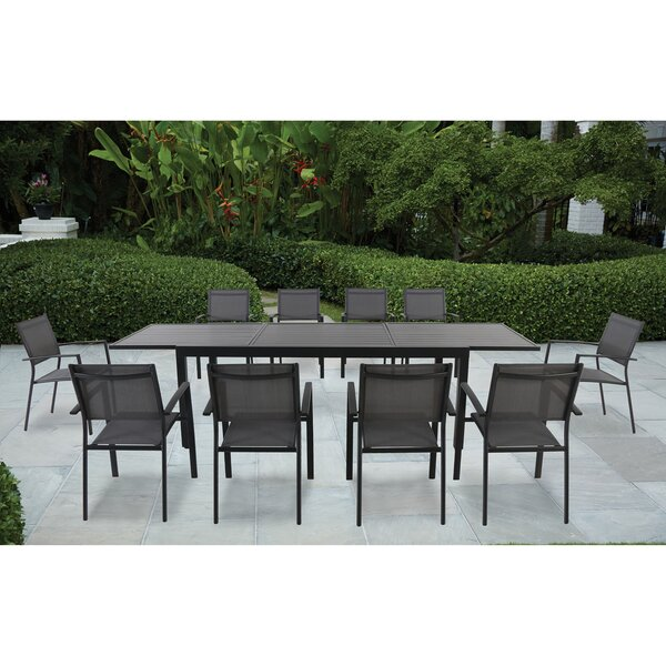 Rayleigh 11 Piece Dining Set by Sol 72 Outdoor