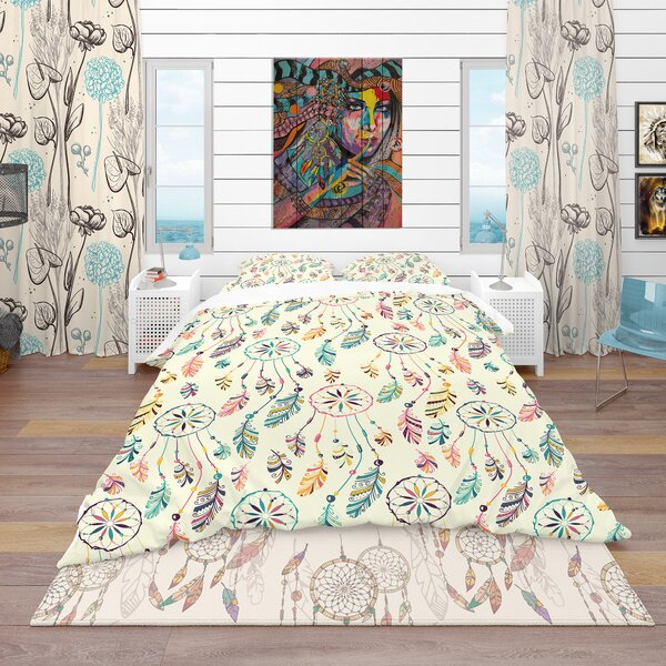American Dream Catcher Duvet Cover Set by East Urban Home