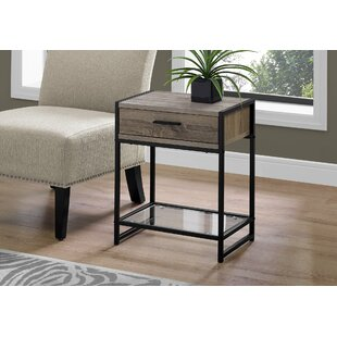 Best Choices Hammons End Table with Storage ByWrought Studio