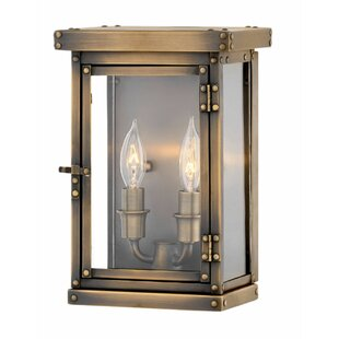 Check Prices Hamilton 2-Light Outdoor Flush Mount By Hinkley Lighting