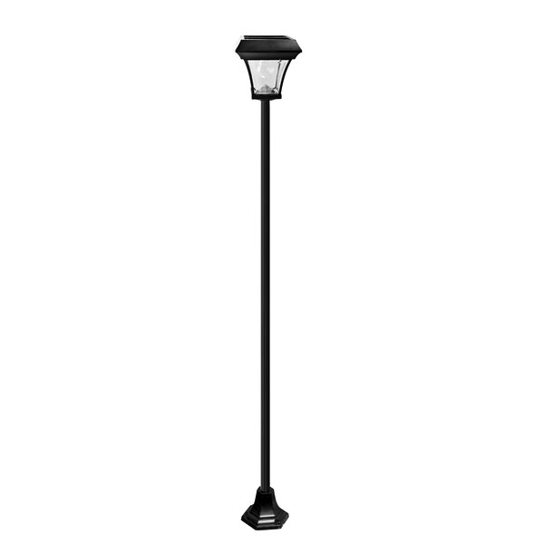 Solar Outdoor 1-Light LED 77.17 Post Light by Elegant Home Fashions