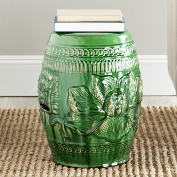 Ellison Ceramic Garden Stool by World Menagerie World Menagerie