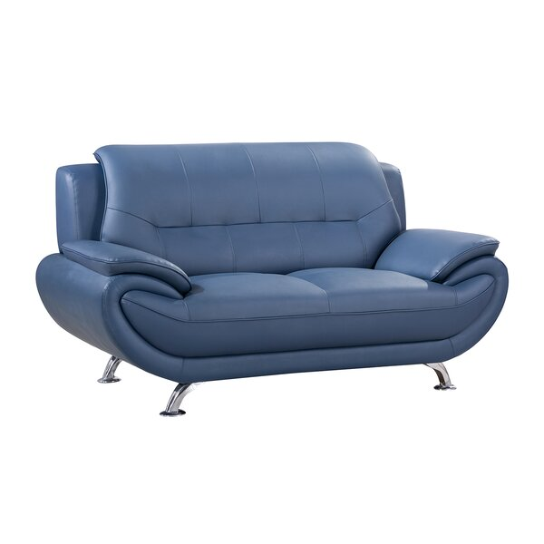 Best Salford 70 Inches Pillow Top Arms Loveseat