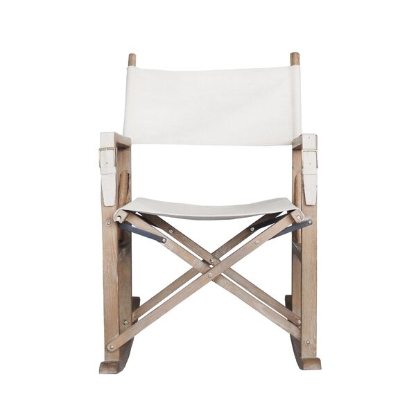 Hogue Foldable Rocking Chair by Bungalow Rose