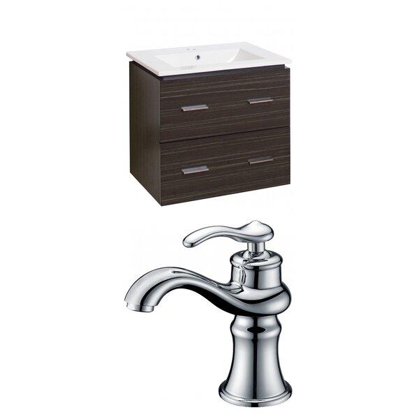 Kyra 24 Wood Single Bathroom Vanity Set by Orren Ellis