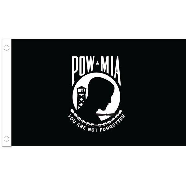 Pow/Mia Nylon Flag by U.S. Flag Store