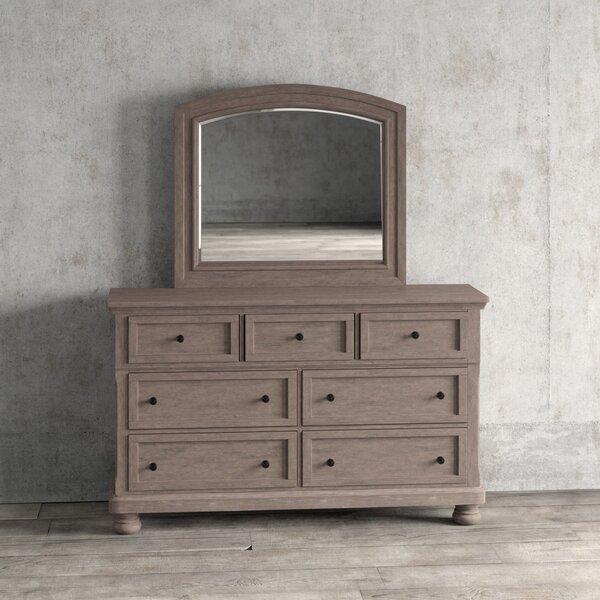 Willesden 7 Drawer Dresser with Mirror by Greyleigh