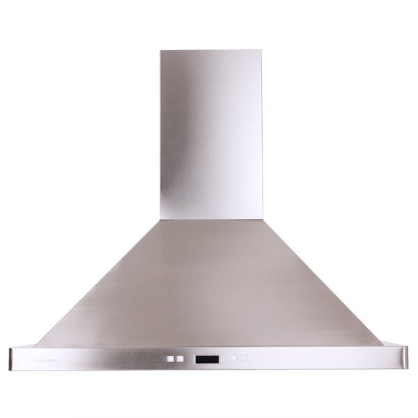 30 Cavaliere 900 CFM Ducted Wall Mount Range Hood by Cavaliere