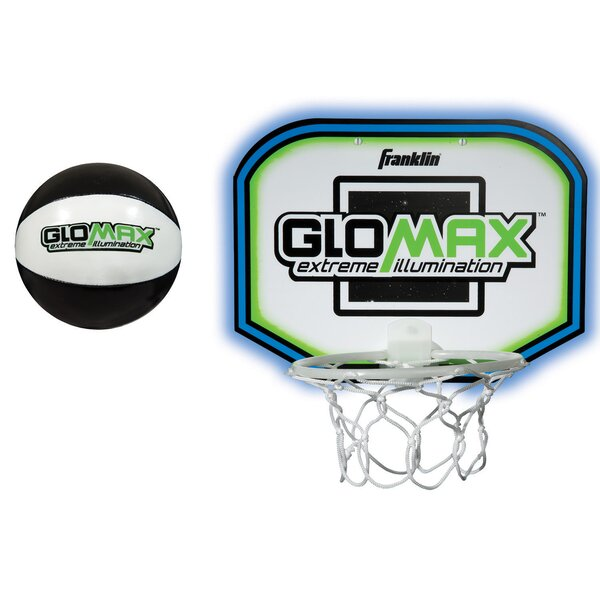 2 Piece Glow Max Basketball Set by Franklin Sports