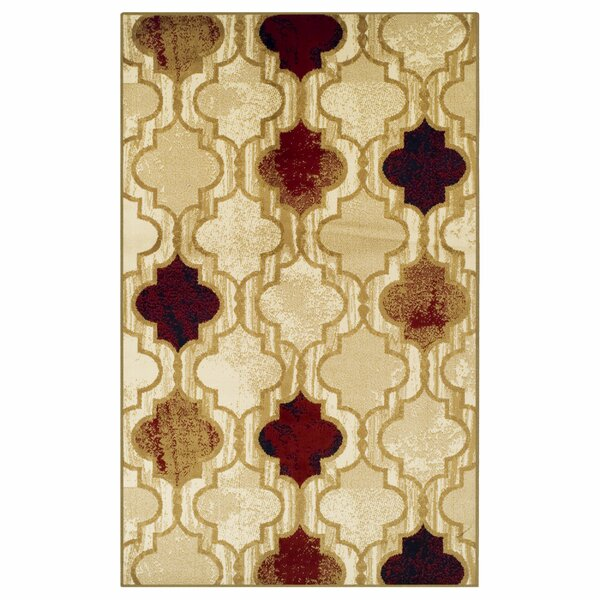 Colena Beige Area Rug by Red Barrel Studio