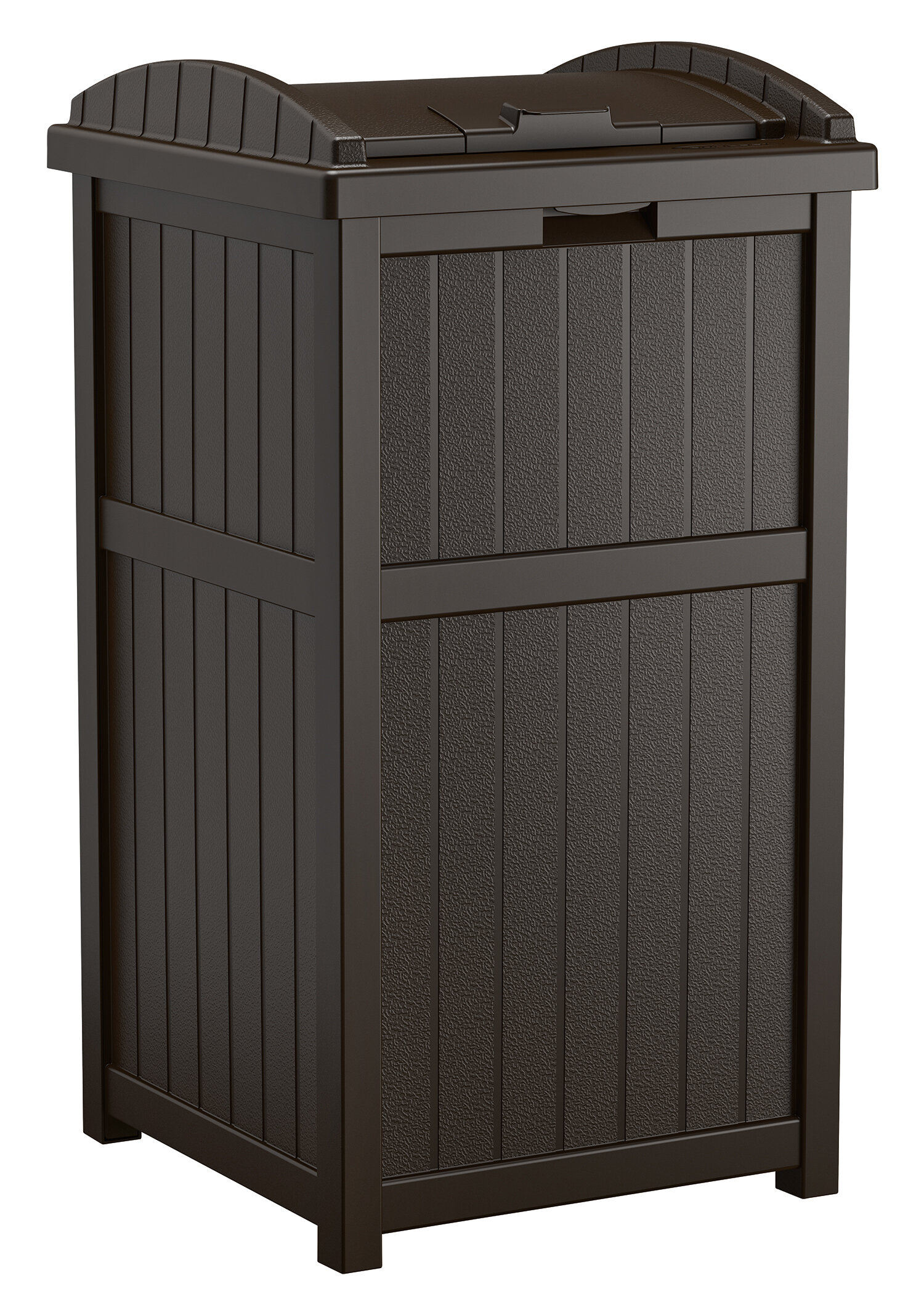 Outdoor Garbage Can Hider