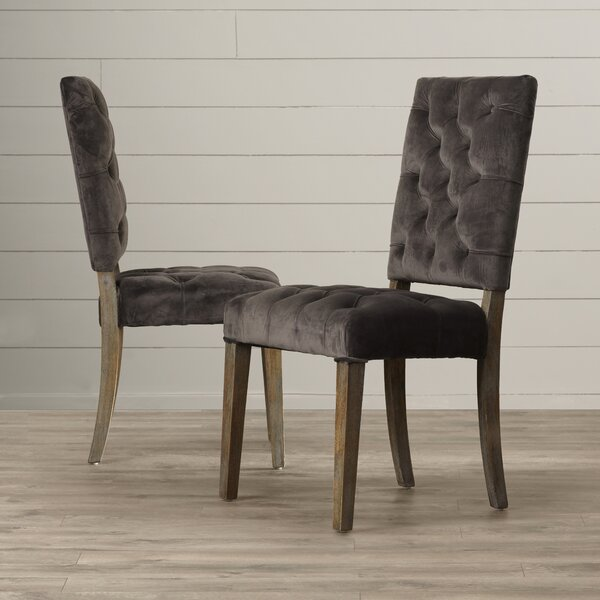 Harlingen Upholstered Side Chair (Set of 2) by Greyleigh