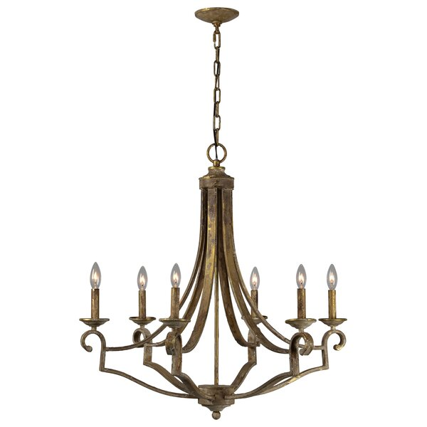 Raleigh 6 - Light Candle Style Empire Chandelier by Gracie Oaks Gracie Oaks