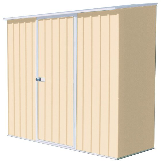 Spacesaver 7 ft. 5 in. W x 2 ft. 7 in. D Metal Lean-To Tool Shed by Absco