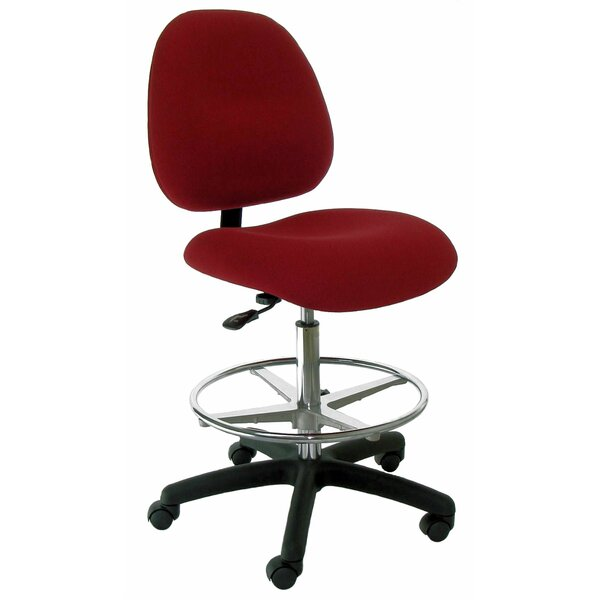 Mid-Back Drafting Chair by Industrial Seating