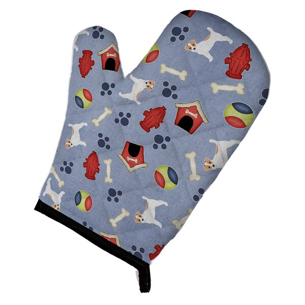 Dog House Jack Russell Terrier Oven Mitt by Caroline's Treasures