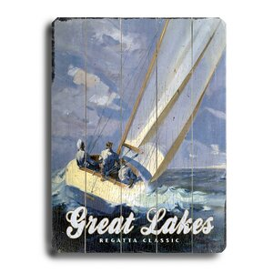 'Great Lakes Regatta Classic' Vintage Advertisement by Artehouse LLC