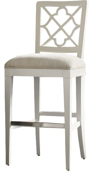 Ivory Key 30 Bar Stool by Tommy Bahama Home