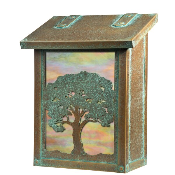 Oak Tree Verical Wall Mounted Mailbox by America's Finest Lighting Company