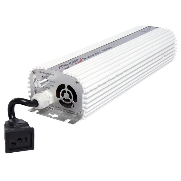 Quantum 1000W Dimmable Ballast by Hydrofarm