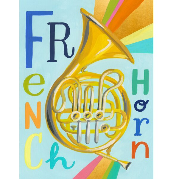 Cuthbert Musical Melodies French Horn by Jessica Allen by Harriet Bee