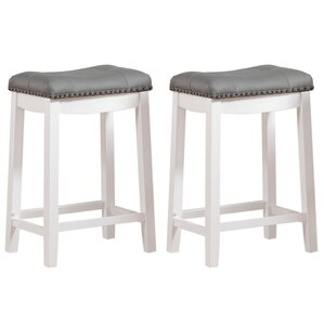 Cambridge 24  Bar Stool (Set ...  sc 1 st  Wayfair : backless kitchen counter stools - islam-shia.org