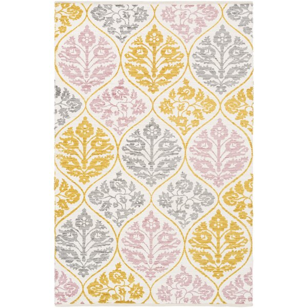 Deutsch Hand-Woven Area Rug by Bungalow Rose