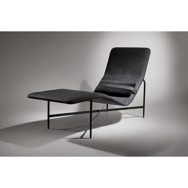 Deep Thoughts Leather Chaise By Blu Dot