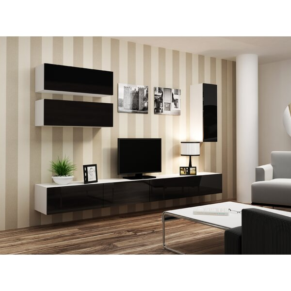 Izzie Floating Entertainment Center For TVs Up To 88