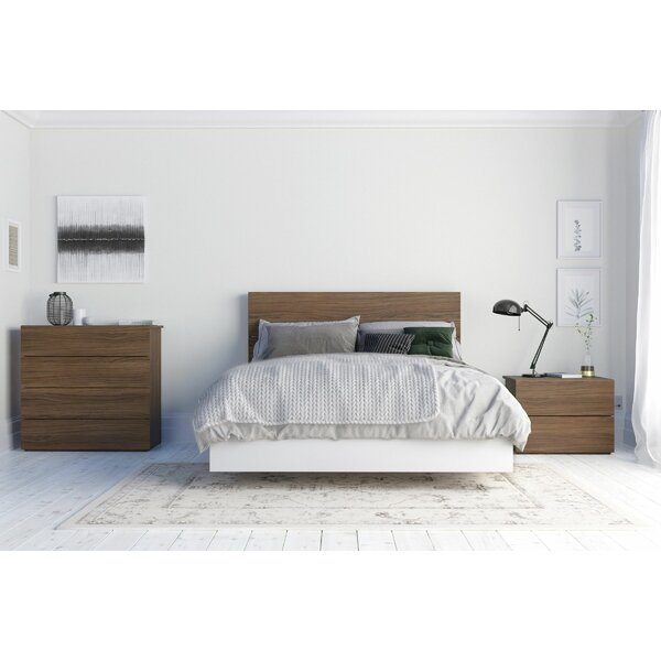 Pembe Platform 4 Piece Bedroom Set by Ebern Designs