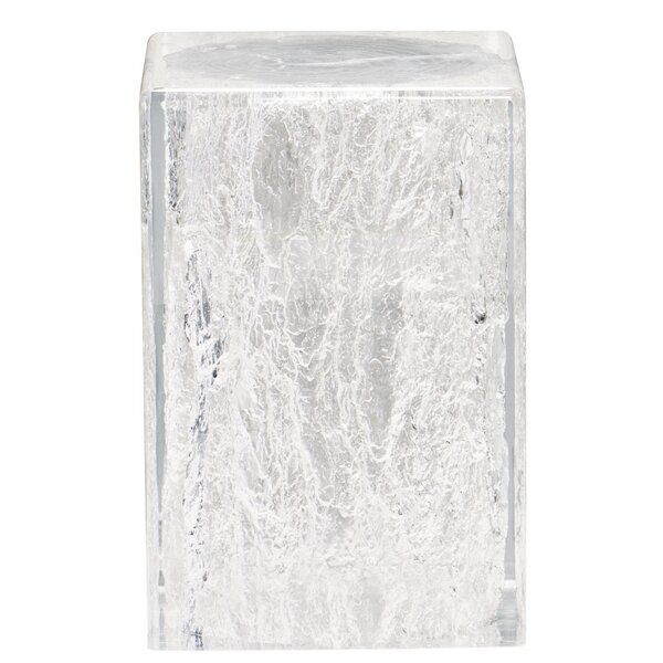 Arctic Chair-Side End Table by Bernhardt