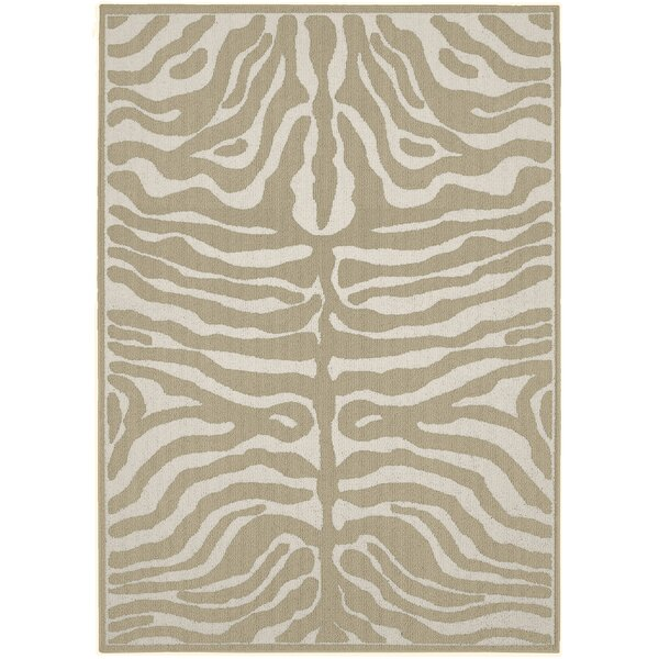 Safari Tan/Ivory Area Rug by Garland Rug