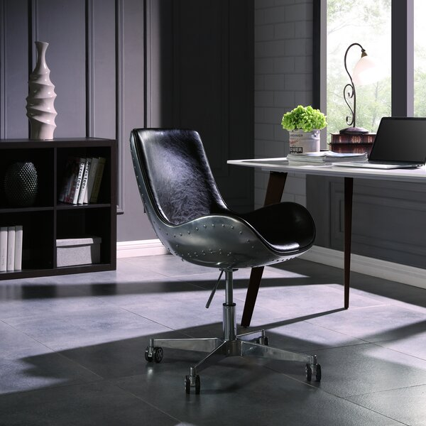 Longe Desk Chair by 17 Stories