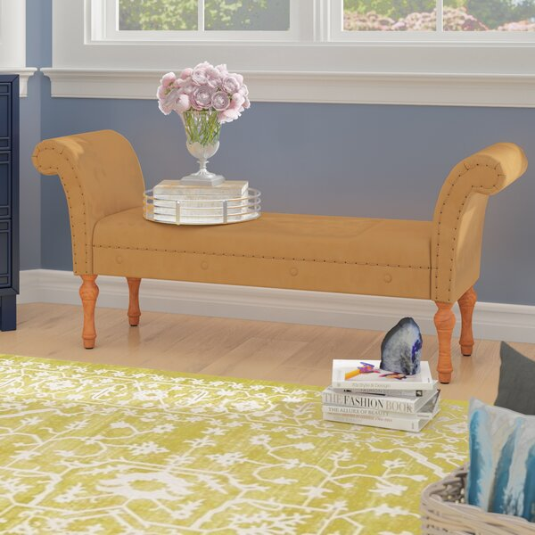 Nallely Entryway Upholstered Bench by Willa Arlo Interiors Willa Arlo Interiors