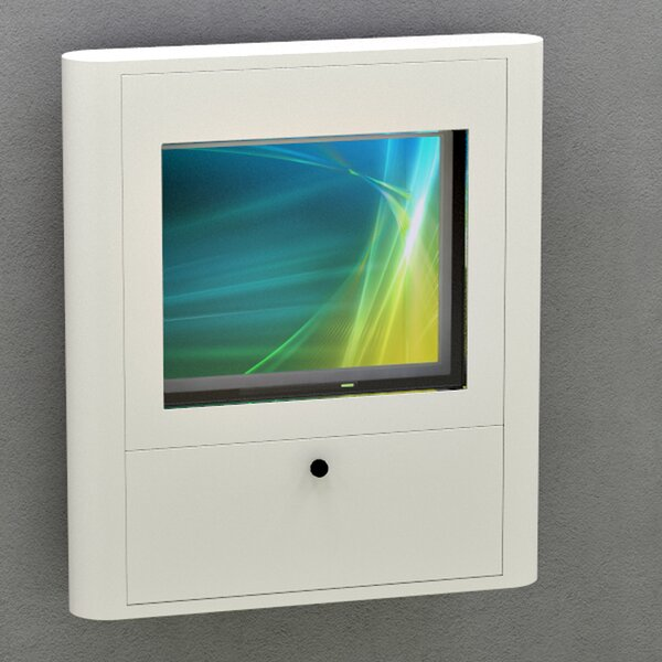 Wall Mounted Computer Workstation by Best Mounting