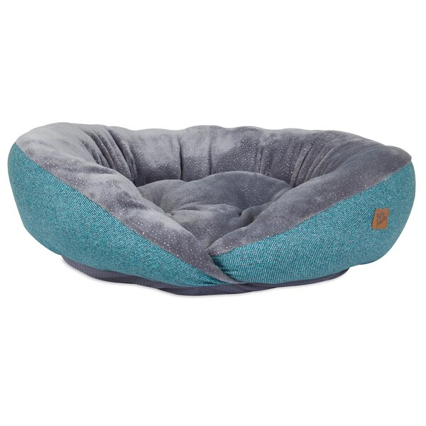 Plush Printed Lounger Bolster Dog Bed by MuttNation Fueled By Miranda Lambert
