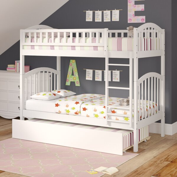 Jackie Twin Over Twin Bunk Bed With Trundle By Viv + Rae Comparison
