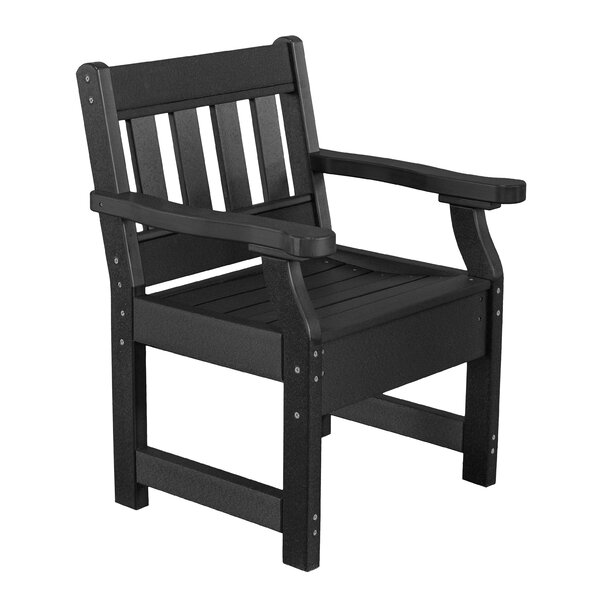 Patricia Contemporary Patio Dining Chair by Rosecliff Heights