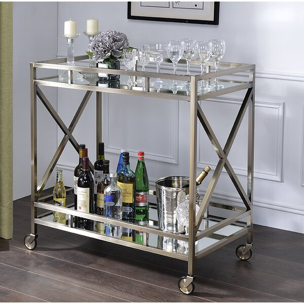 Poojari Bar Cart By Orren Ellis Comparison