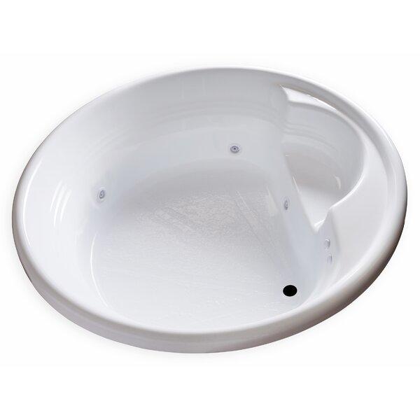 Hygienic Aqua Massage 72 x 72 Whirlpool Bathtub by Carver Tubs