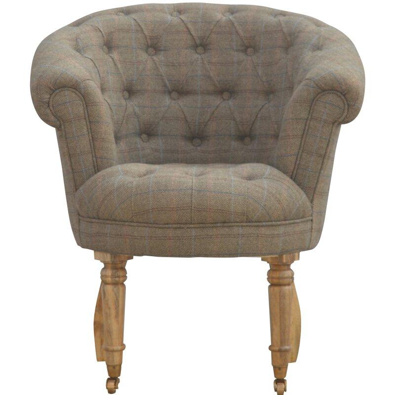 hazelwood home deep buttoned tub chair wayfair co uk