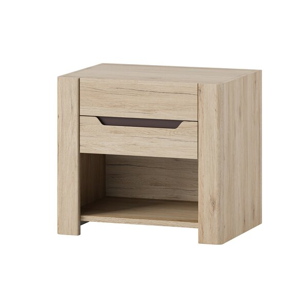 Halethorpe 1 Drawer Nightstand by Latitude Run